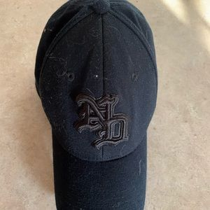 Notre Dame Black One Fit Large Hat